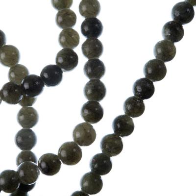 Giada Nefrite - Filo di sfere lisce da 6mm