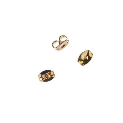 Farfallina per Orecchini color Oro 6,5mm - 6.5 gr. (circa 50 pz.)