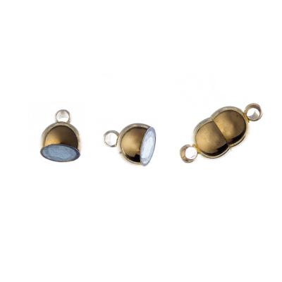 Chiusura Magnetica in Ottone color Oro 1.6x0.7 cm - 1 pz.