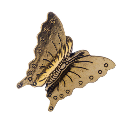 Distanziatore a Farfalla color Oro 3x2.9 cm- 1 pz.