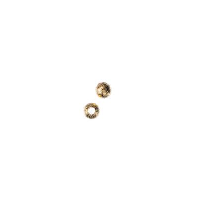 Distanziatore pallina diamantata da 4mm color Oro - 4 gr (circa 40 pz.)