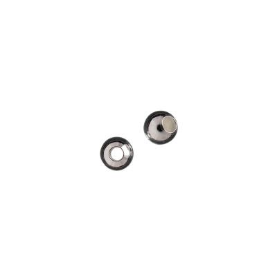 Distanziatore sfera liscia in Argento 925 - diametro 0.5 cm - 10 pz.