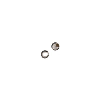 Distanziatore sfera liscia in Argento 925 - diametro 0.35 cm - 10 pz.