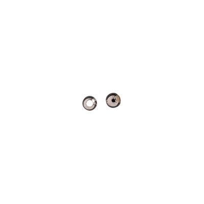 Distanziatore sfera liscia in Argento 925 - diametro 0.3 cm - 0.6 gr. (circa 10 pz.)