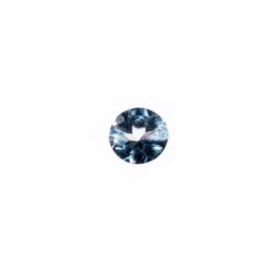 Gemma di Acquamarina - Taglio a Brillante diametro 0.7 - 1.05 ct.