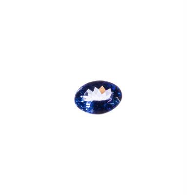 Gemma di Tanzanite - Taglio Ovale 0.6x0.75 - 1.39 ct.