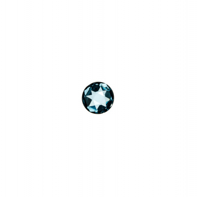 Gemma di Topazio - 0.55 carati - Tondo 0.5 cm diametro