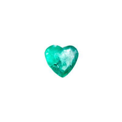 Gemma di Smeraldo - Taglio a Cuore 0.8x1.0 - 2.33 ct.