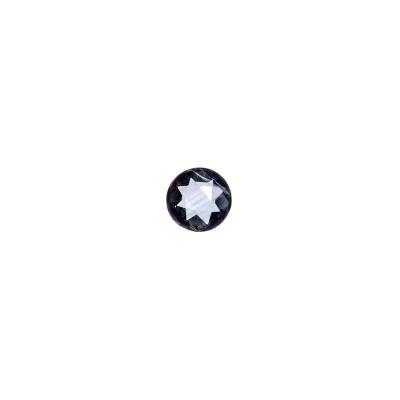 Gemma Tonda di Ametista - 0.49 carati - diametro 0.5 cm.