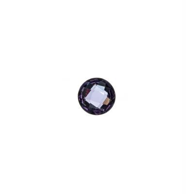 Gemma Tonda di Ametista - 0.64 carati - diametro 0.6 cm.