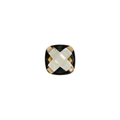 Gemma di Quarzo Fumè - 1.66 carati - Quadrato 0.8x0.8