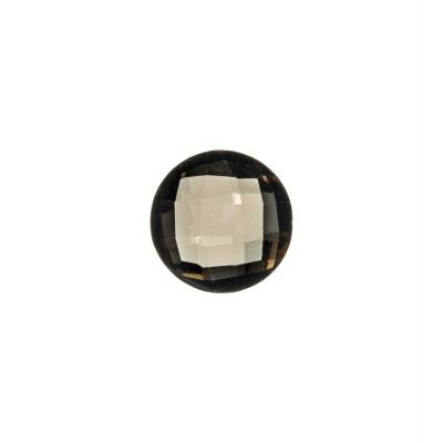 Gemma di Quarzo Fumè - 3.17 carati - Tondo 1 cm diametro