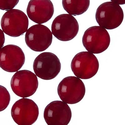 Giada Rossa - Filo di sfere lisce da 12mm