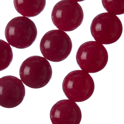 Giada Rossa - sfera liscia da 14mm