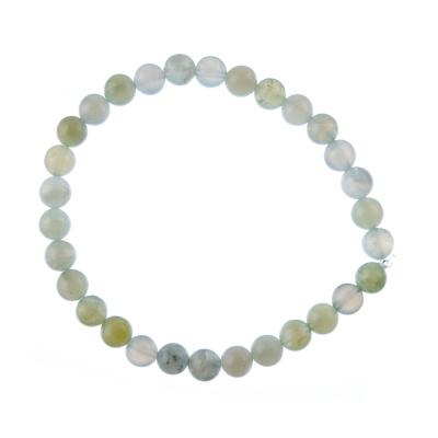 Bracciale New Jade, elastico, sfere 6mm