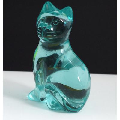 Gatto in Ossidiana Nobile