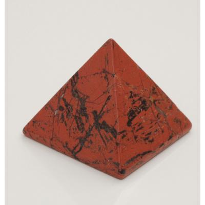 Piramide in Diaspro Rosso