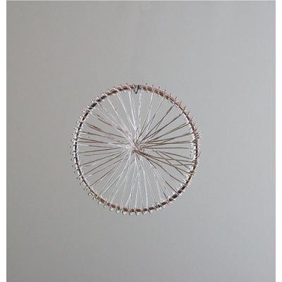 Ruota con raggi color Platino diametro 4 cm- 1 pz.