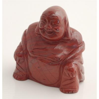 Buddha in Diaspro Rosso