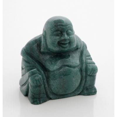 Buddha in Avventurina Verde