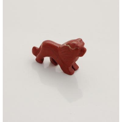 Leone in Diaspro Rosso