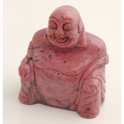 Buddha in Rodonite
