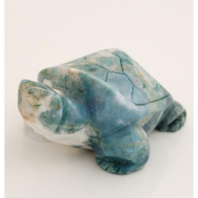 Tartaruga in Diaspro Orbicolare