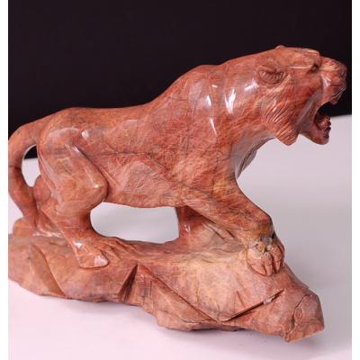 Tigre in Diaspro Rosso