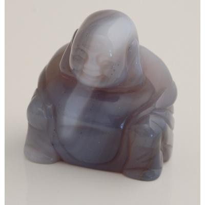 Buddha in Agata Naturale