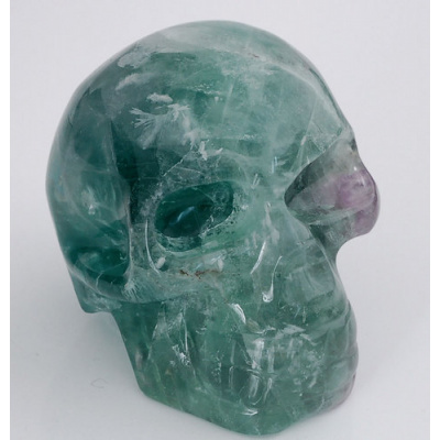 Teschio in Fluorite