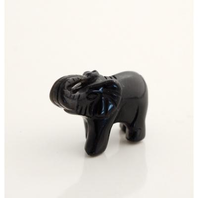 Elefante in Onice
