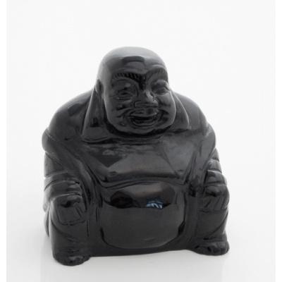 Buddha in Ossidiana Nera