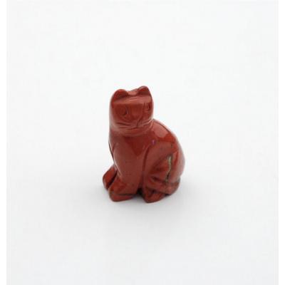 Gatto in Diaspro Rosso