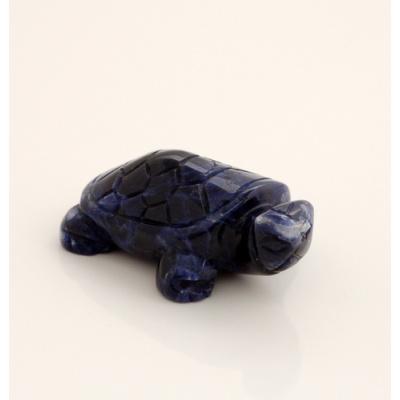 Tartaruga in Sodalite