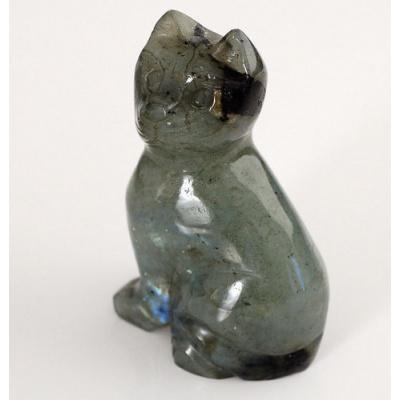 Gatto in Labradorite