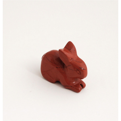 Coniglio in Diaspro Rosso