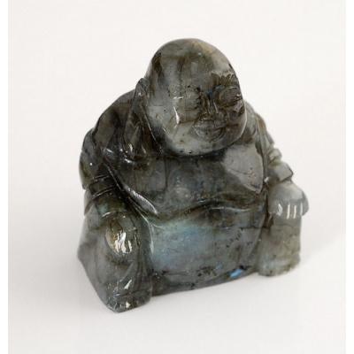 Buddha in Labradorite