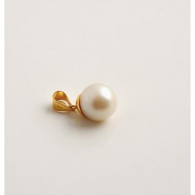 Ciondolo con Perla e Oro 18k
