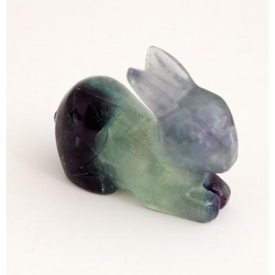Coniglio in Fluorite