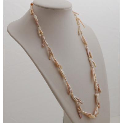 Collana lunga di Perle e Oro