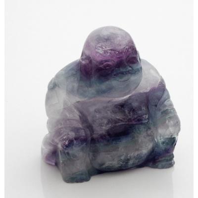 Buddha in Fluorite