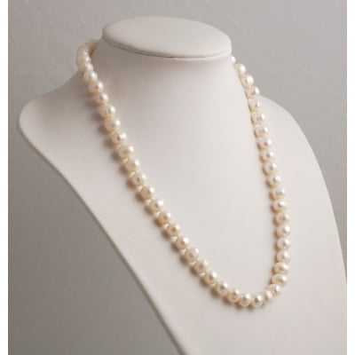 Collana Corta di Perle e Oro