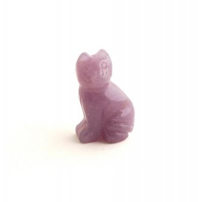 Gatto in Calcite Blu