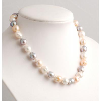 Collana Corta di Perle e Argento