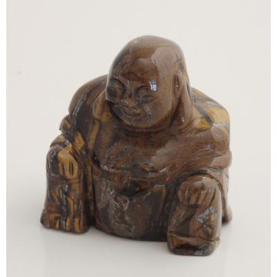 Buddha in Occhio di Tigre