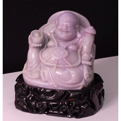 Buddha in Giada Lavanda