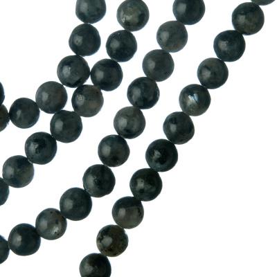 Labradorite - Filo di sfere lisce da 6mm