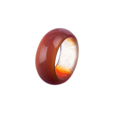 Anello All Stone in Corniola - Medium