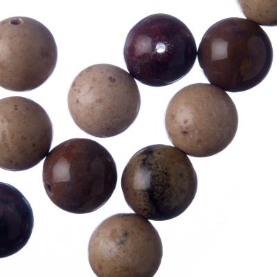 Mokaite - Filo di sfere lisce da 14mm