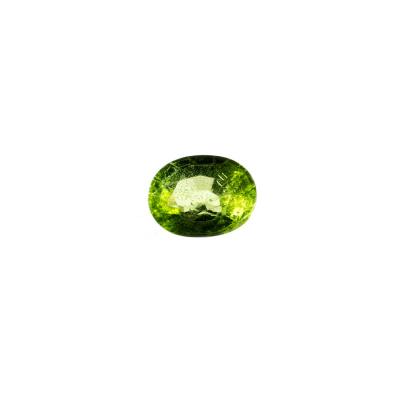 Gemma di Peridoto (Olivina) - Taglio Ovale 0.9x0.7 - 2.72 ct.